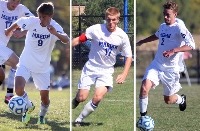 Three Sabres Garner All-NAC Accolades
