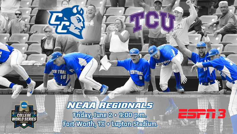 Baseball Begins Play at NCAA Regional on Friday