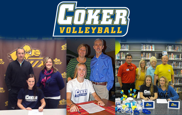 Women's Volleyball Inks Six for 2014-15