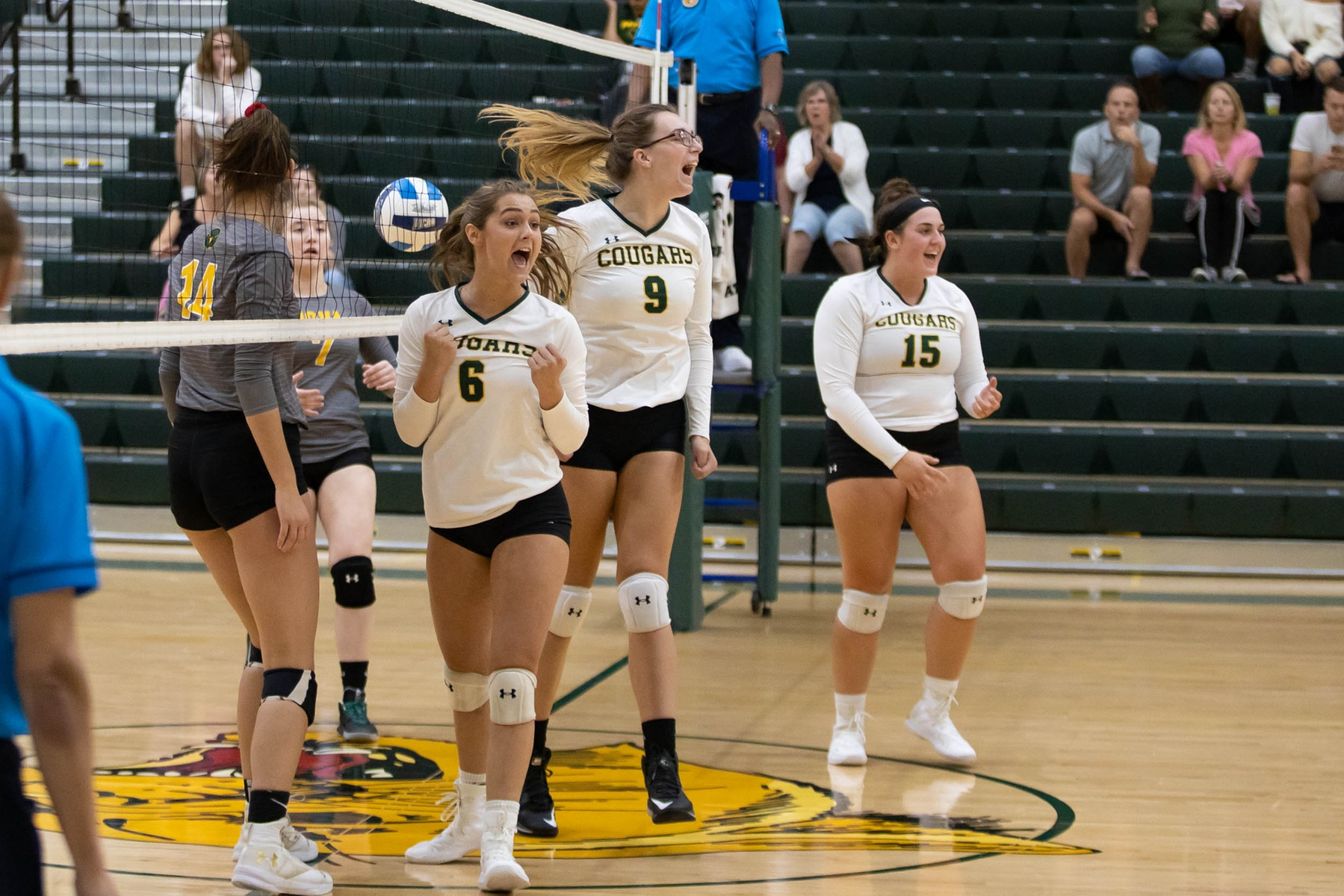 Ryan rises over Riverhawks in Volleyball win