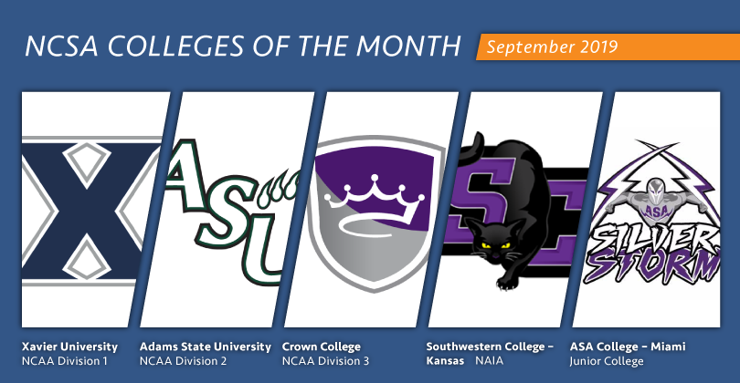 ASA Miami Recognized As NCSA College of the Month