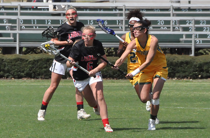 Lacrosse: Alexis Dillard scores four goals as Panthers take on Methodist in USA South game