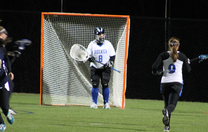 Wicks Makes 18 Saves In Loss To RIC
