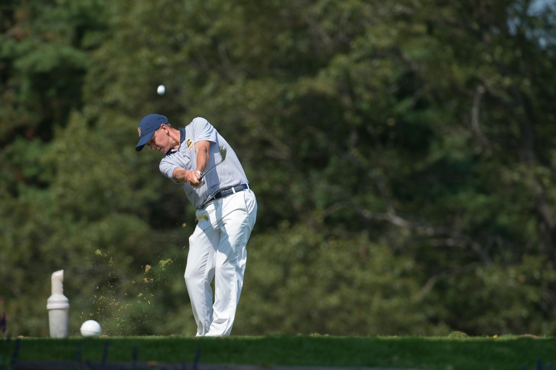 Men's Golf takes 2nd while Rogan earns medalist honors at Bobby Krig Invite