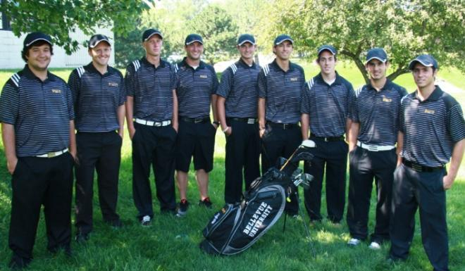 2011-12 Bellevue Men's Golf