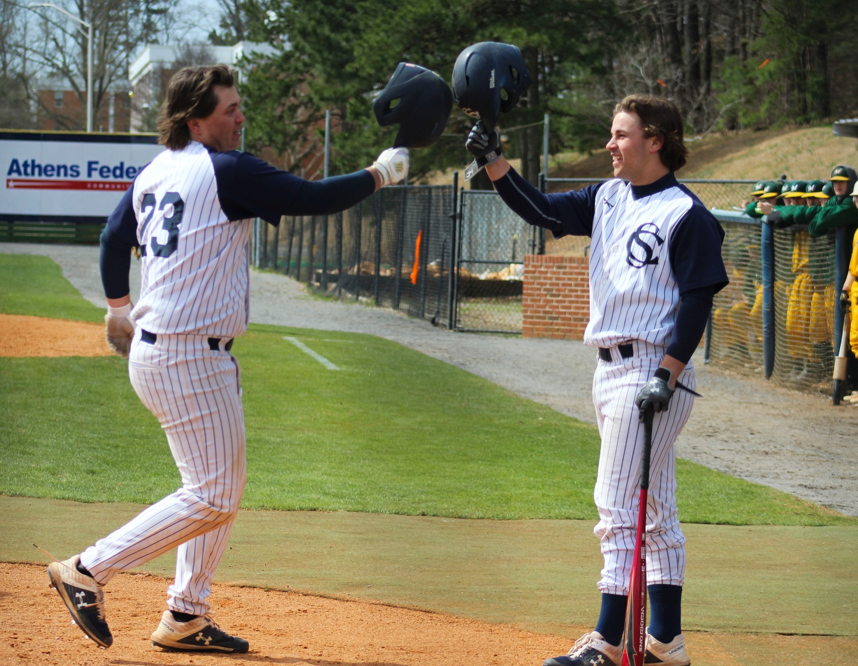 Baseball Splits Doubleheader With Motlow