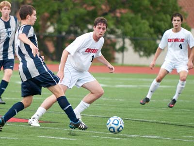 CUA upends Susquehanna 2-1 on the road