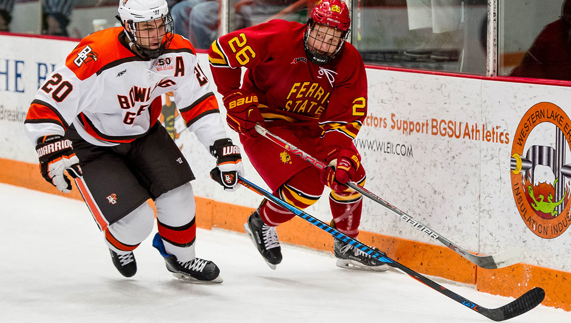 Four Goal Second-Period Lifts Bowling Green To Game One Win Over FSU In WCHA Playoffs