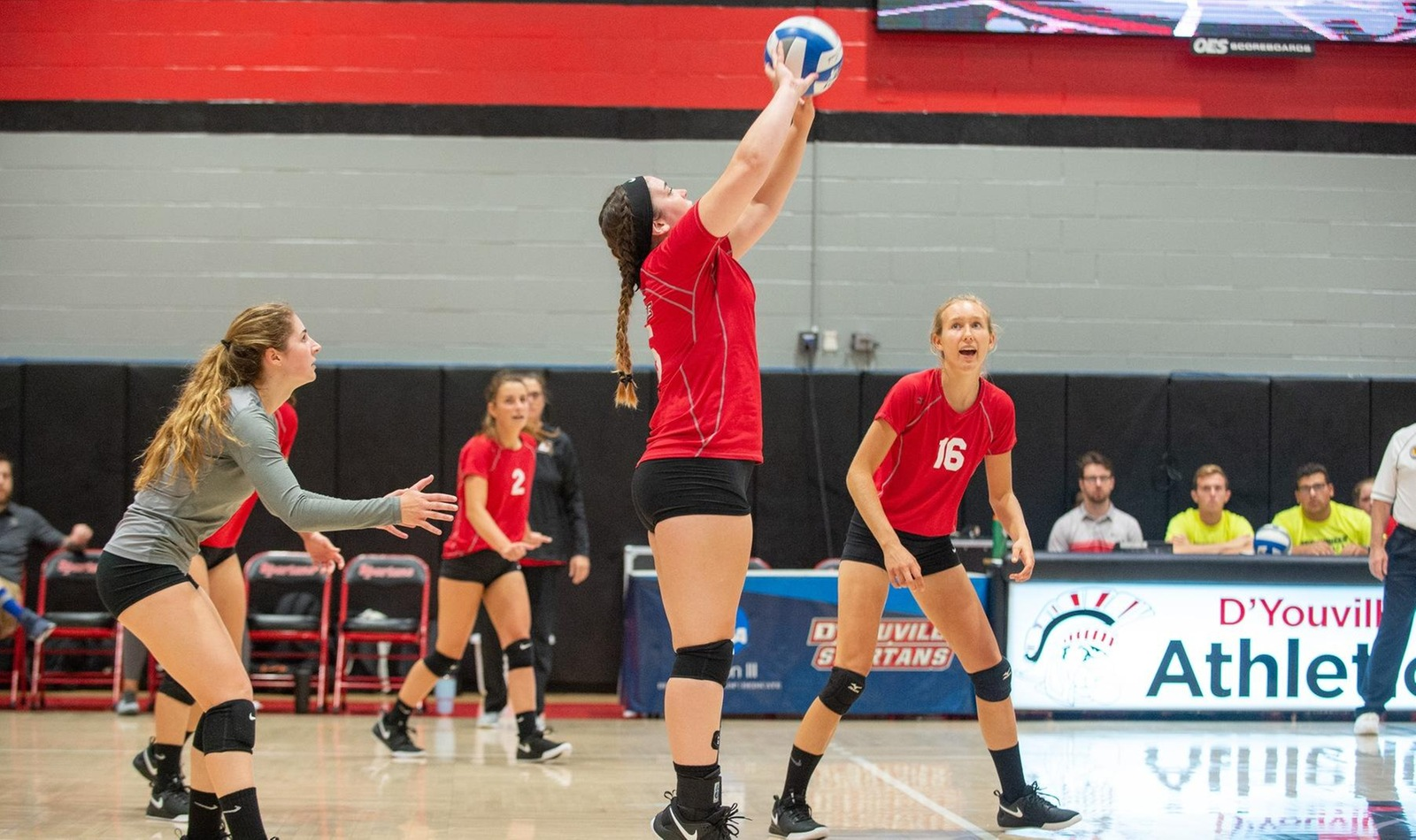 Spartans Battle Hard in Non-Conference Match against Brockport