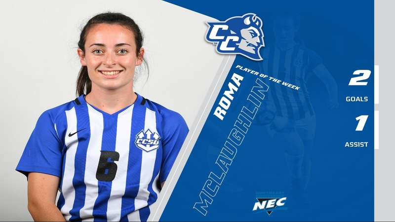 McLaughlin Named NEC Player of the Week