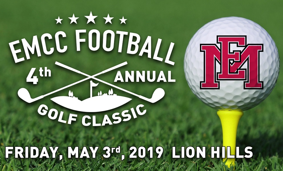 Fourth Annual EMCC Football Golf Classic slated for May 3 at Lion Hills in Columbus