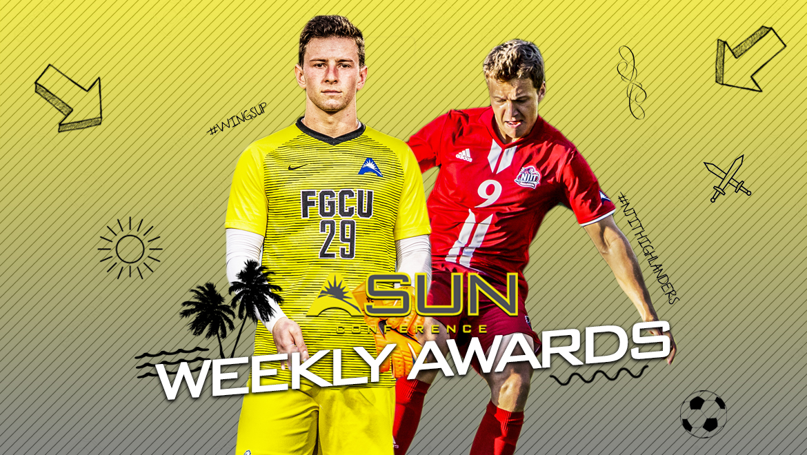NJIT's White, FGCU's Gavigan Earn Final Men's @ASUNSoccer Weekly Honors