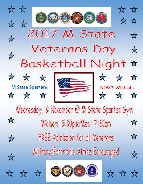 Veterans Day Basketball Night