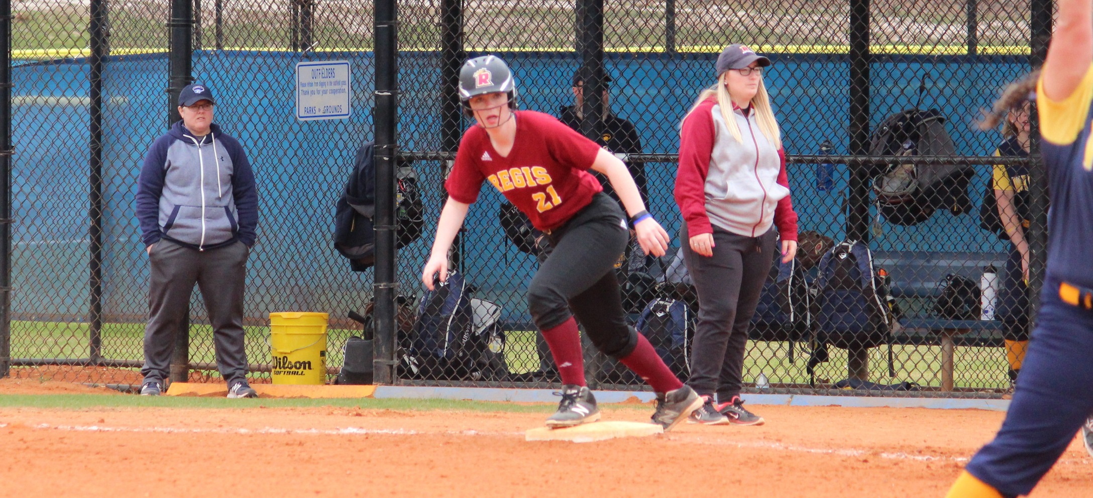 Softball Picks Up First Win of Season