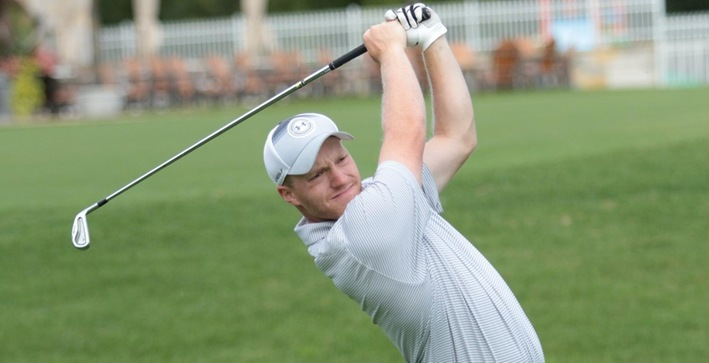 Jones near top of leaderboard, Men's Golf in 4th at NACC Championship