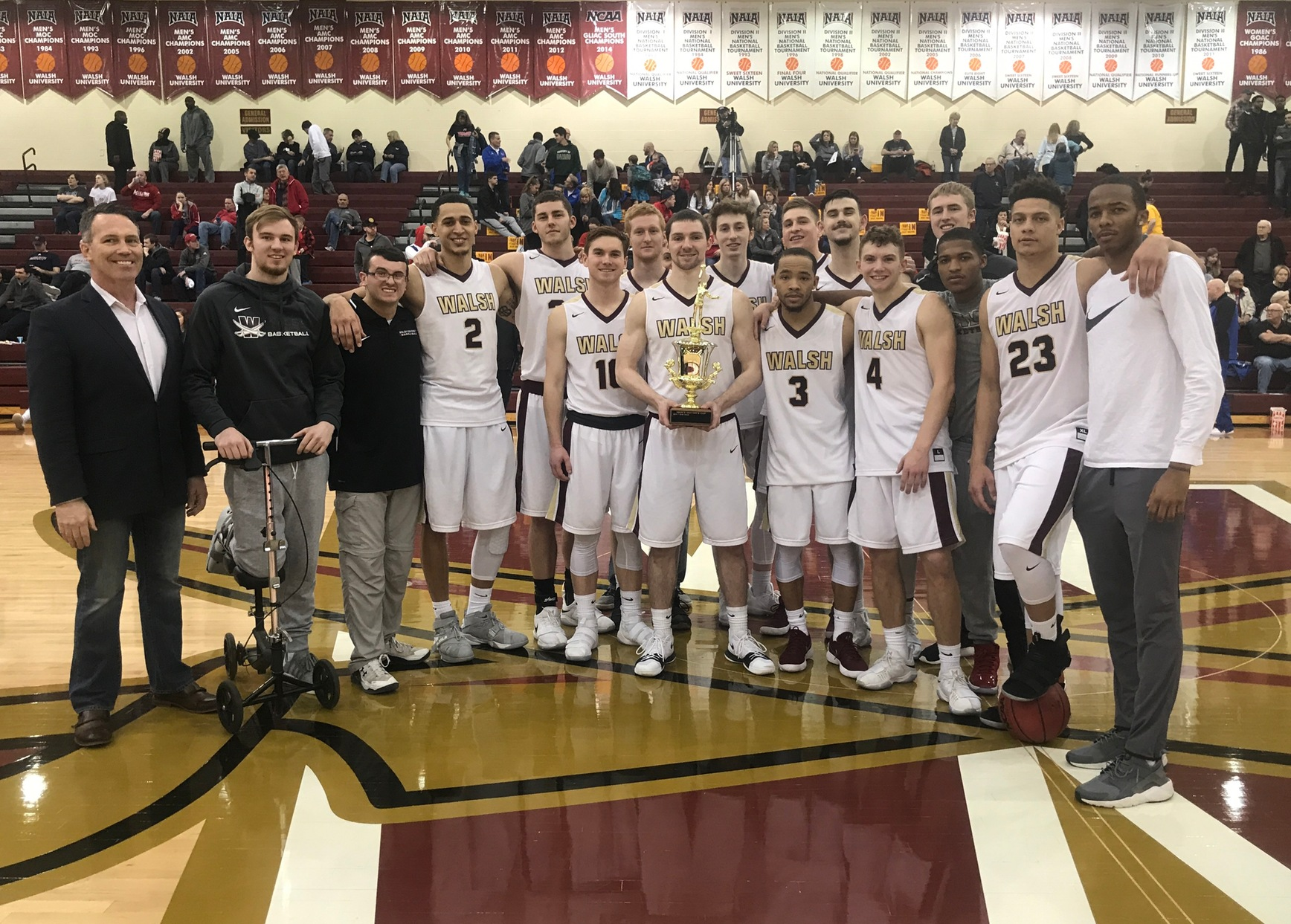 Cavs Continue Mayors' Cup Dominance Over Malone