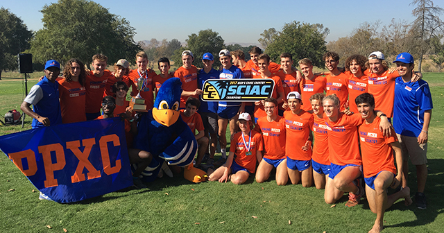 Pomona-Pitzer Claims 2017 SCIAC Men's Cross Country Championship