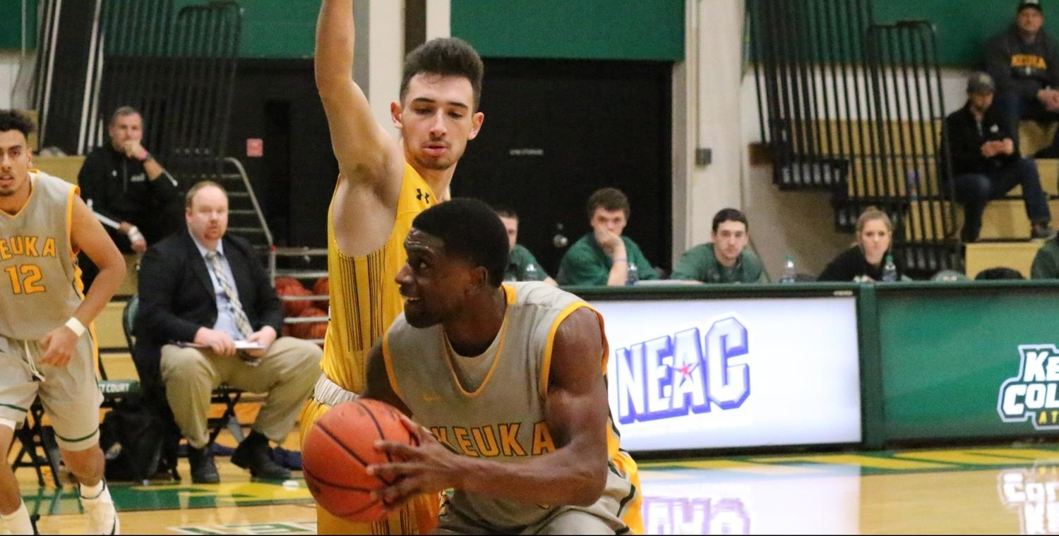 Trevor Powell (22) led Keuka with 22 points on Wednesday -- Photo by Ed Webber