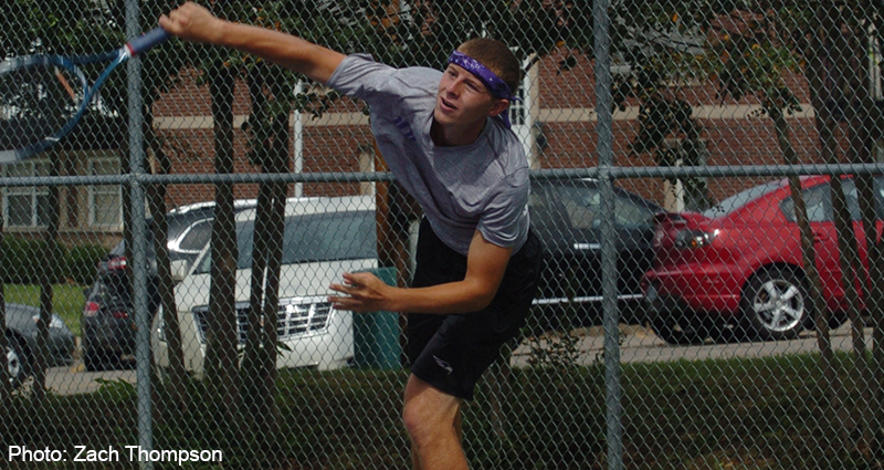 Men's Tennis Team Takes 8-1 Road Victory Over Blue Mountain College