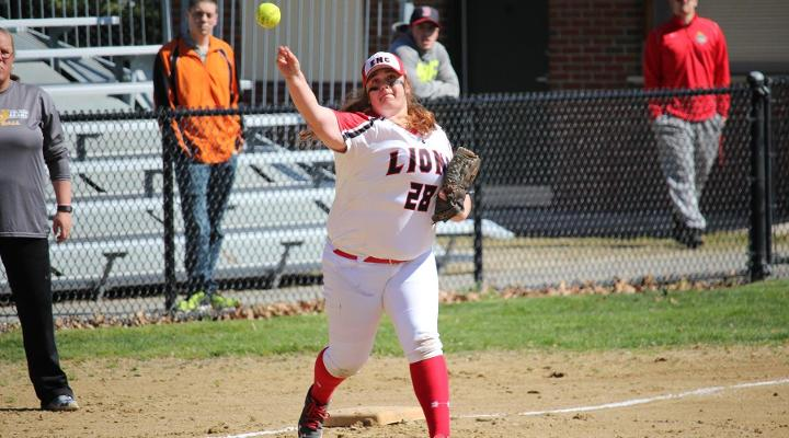 Softball Suffers Two Shutout Losses at Endicott
