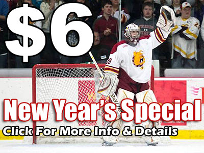 """New Year's Special"" for Home Hockey Jan. 6"