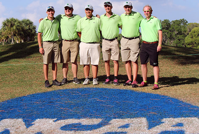 WLC Men's Golf Team