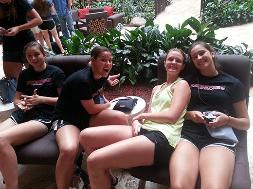 Volleyball Trip to Puerto Rico: Travel Day (Day 1)
