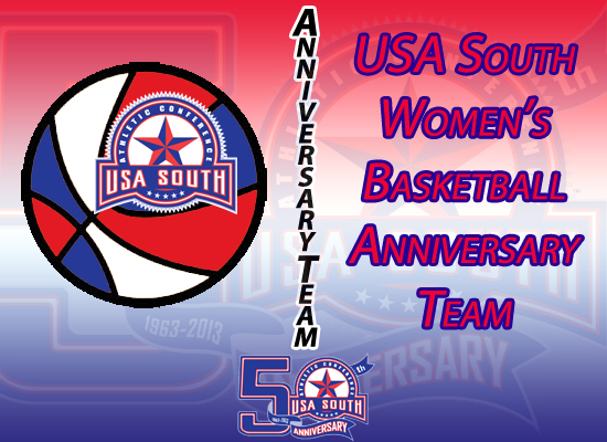USA South Announces 50th Anniversary Women's Basketball Team