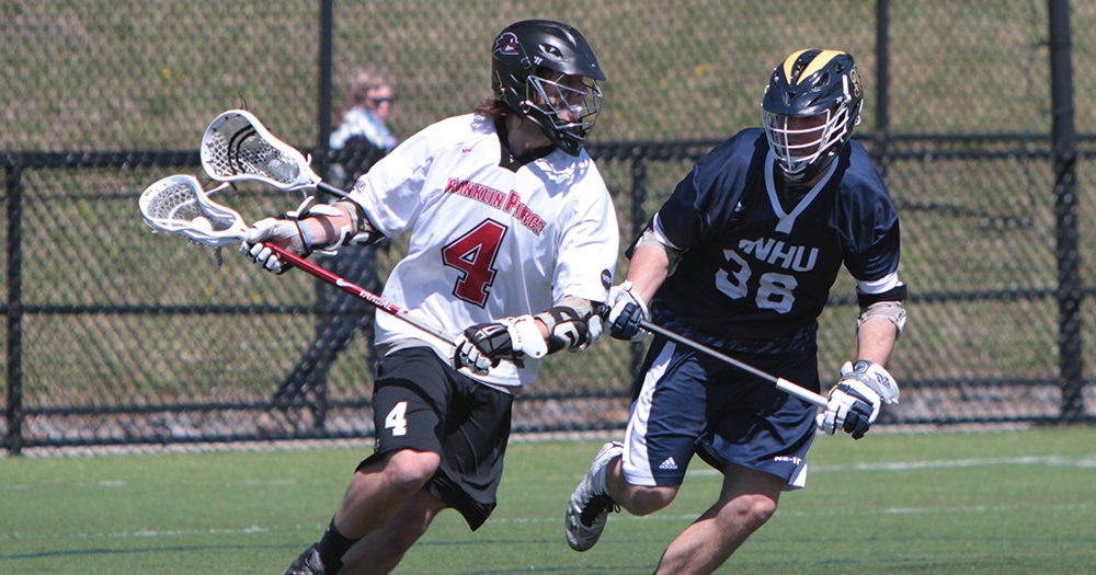 Men's Lacrosse Goes Quiet in Second Half, Falls to Pace, 17-8
