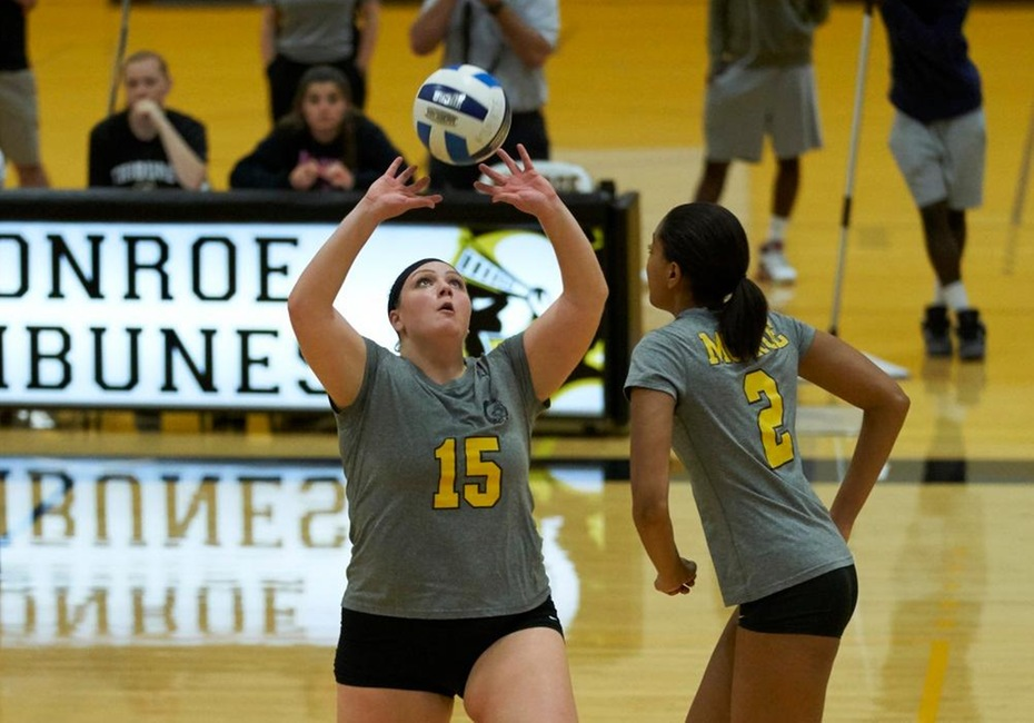 Volleyball Wins Sixth Straight Game