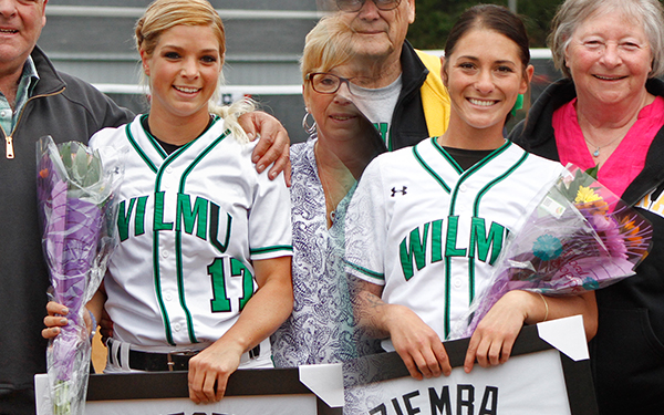 Post Sweeps Wilmington Softball, 2-0 and 5-4, on Senior Day to Close Out 2016 Regular Season