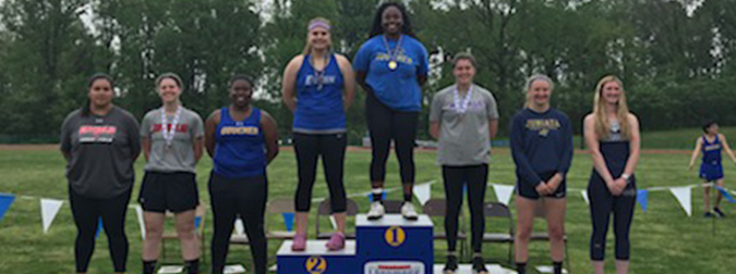 Gunter Wins Discus On First Day Of Landmark Conference Outdoor Track And Field Championships