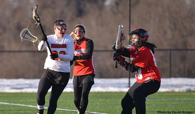 Women's Lacrosse freezes Albright, 13-8
