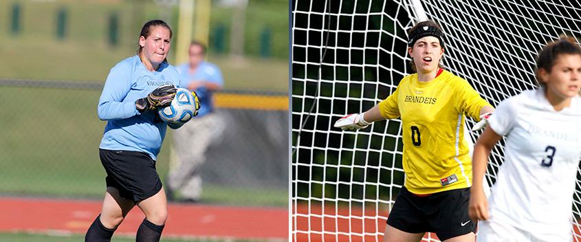 Francine Kofinas '13 and Michelle Savuto '15 (photos by sportspix.biz)