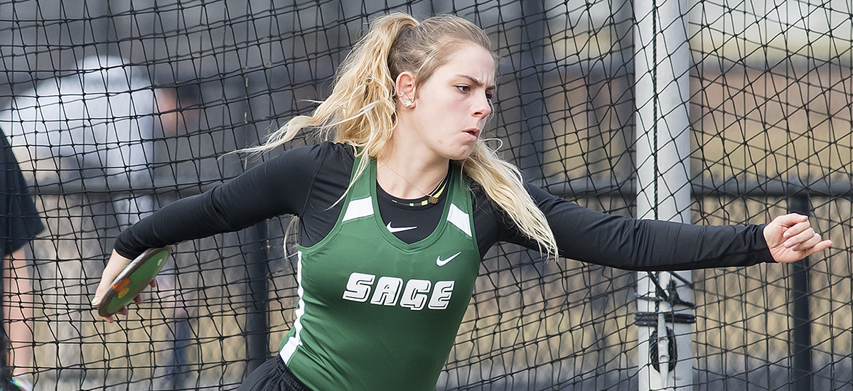 Another week and another set of school records for Sage women's track team