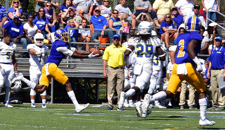 Football Loses to No. 20 Wingate