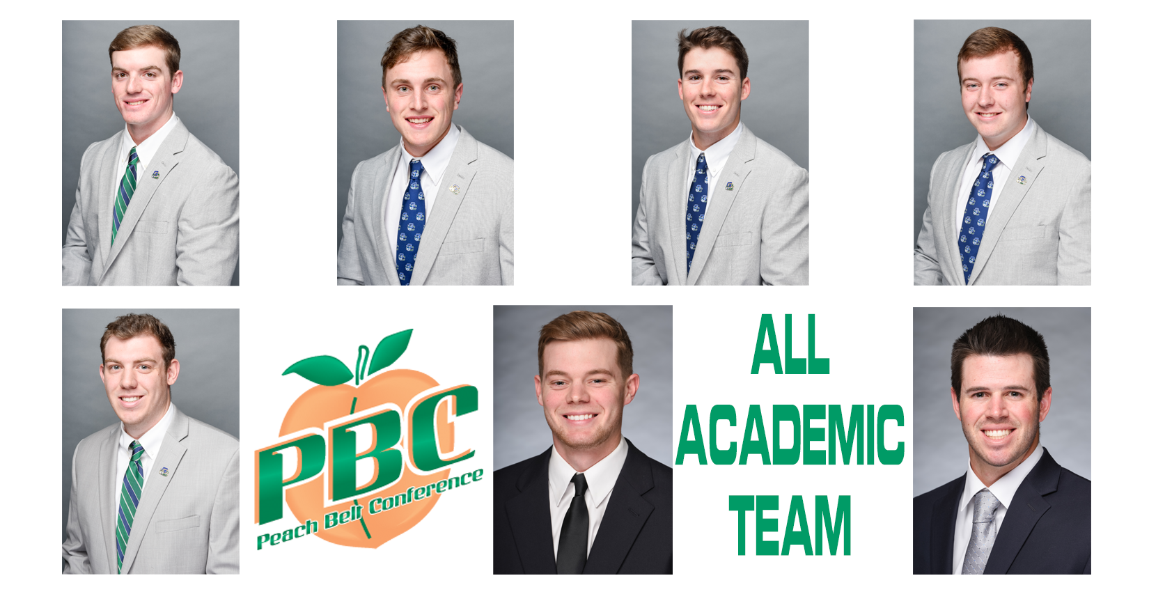 Bobcat Baseball All-Academic Team Members
