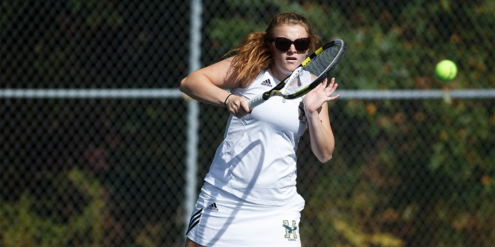 Women's Tennis Defeats MCLA, 5-4