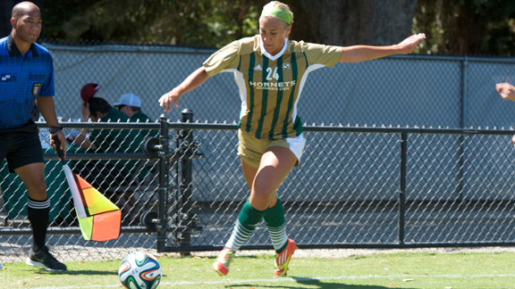 EARLY GOAL LEADS SAN JOSE STATE PAST WOMEN'S SOCCER 1-0