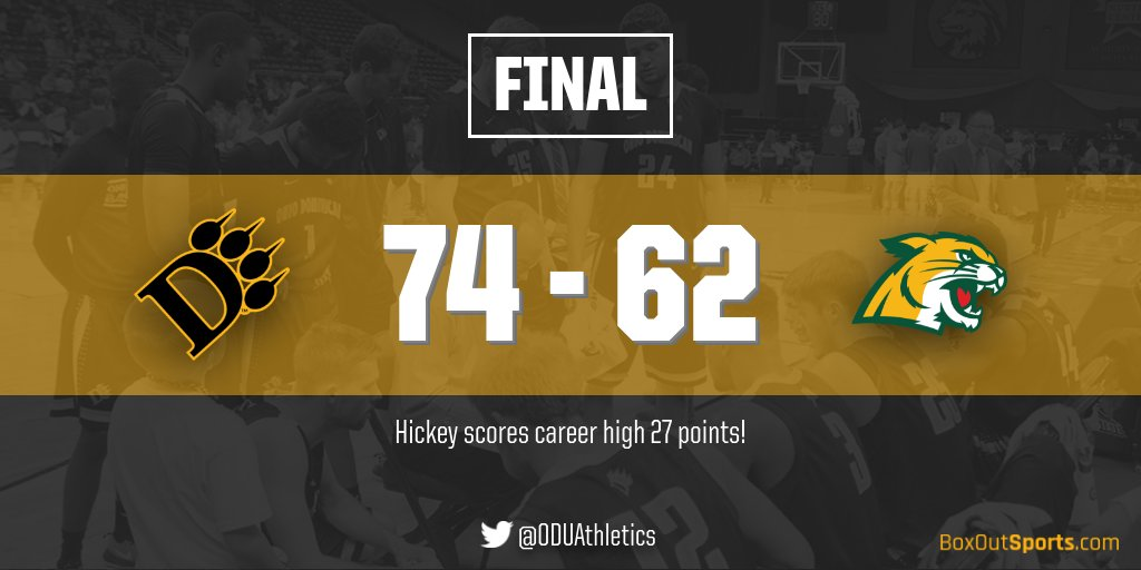 Strong Second Half Powers Men's Basketball To 74-62 Win Over Northern Michigan