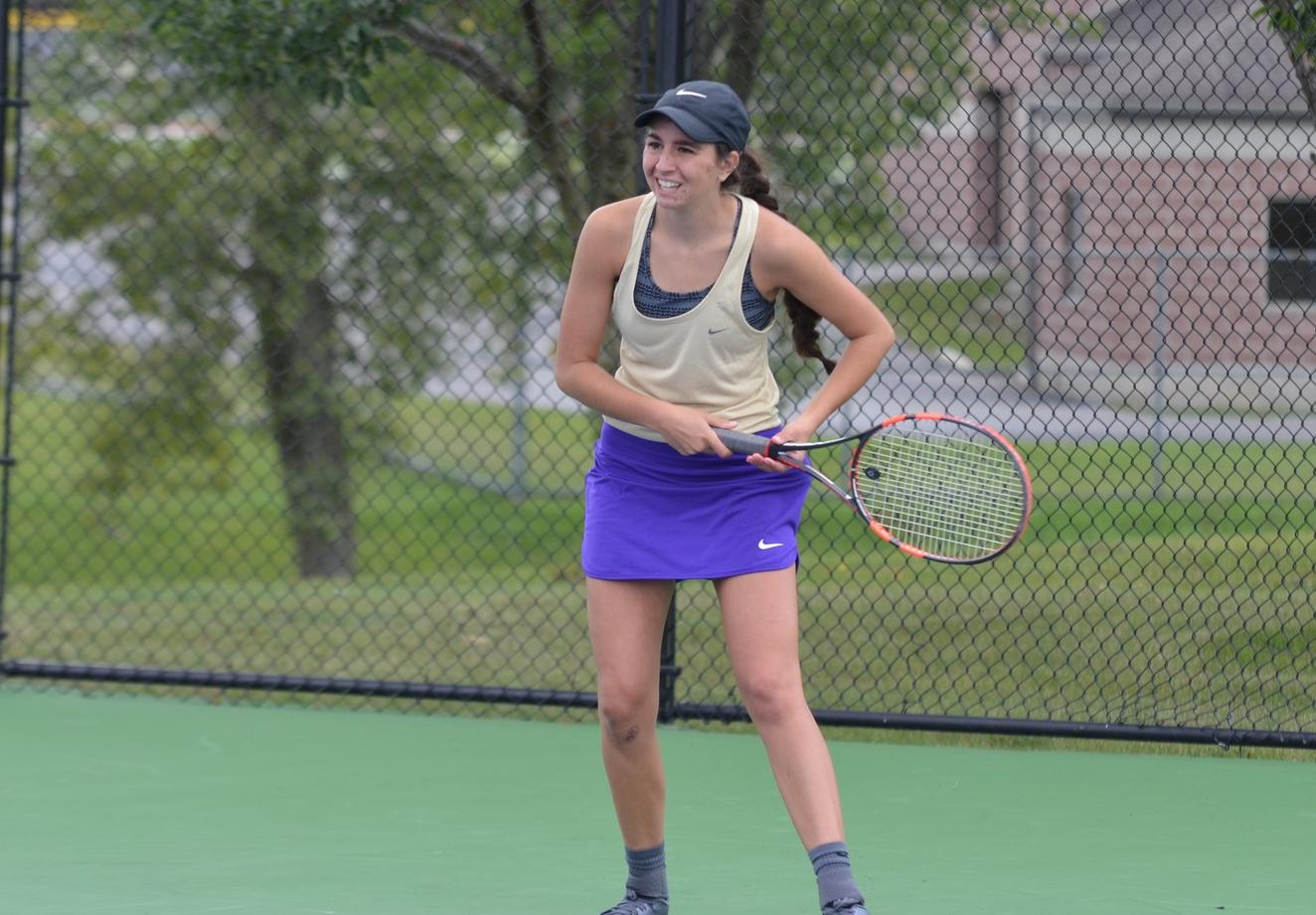 Women's Tennis Drops Double-Header at Home