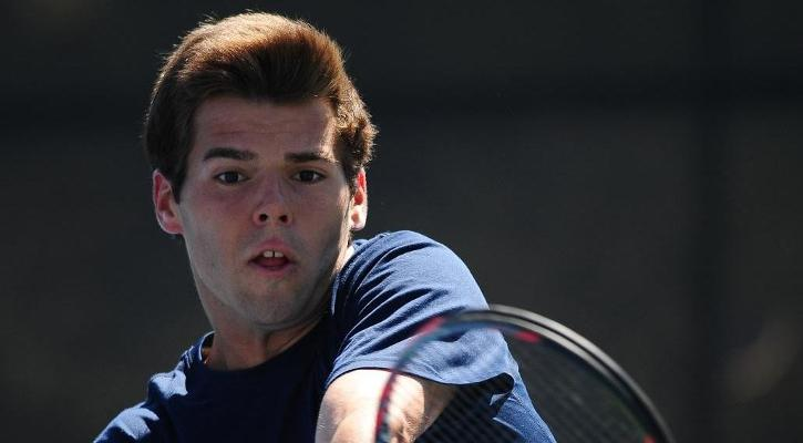 Haas defeats No. 28 Galarneau in No. 1 singles