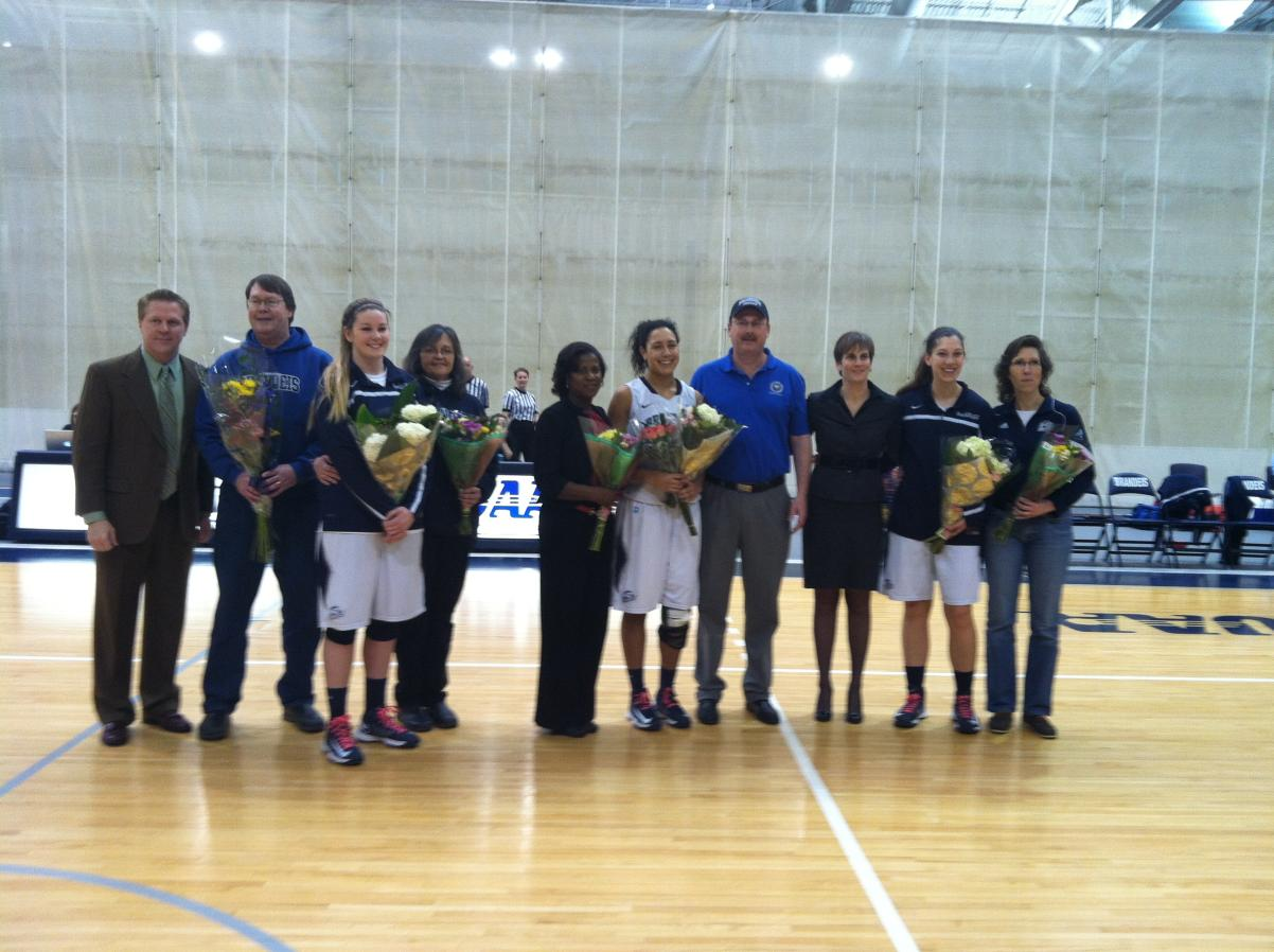 Brandeis Women's Basketball comes up short on Senior Day against #13 Wash. U, 62-57