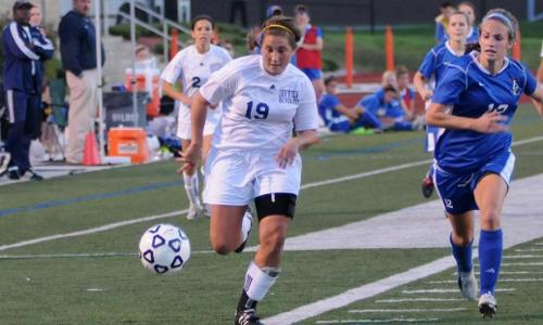 Women's Soccer Roll to 3-0 Victory