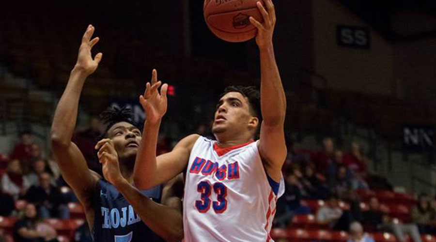 James Rojas and the No. 1 Blue Dragons travel to Garden City for an 8 p.m. matchup with the Broncbusters on Saturday. (Allie Schweizer/Blue Dragon Sports Information)