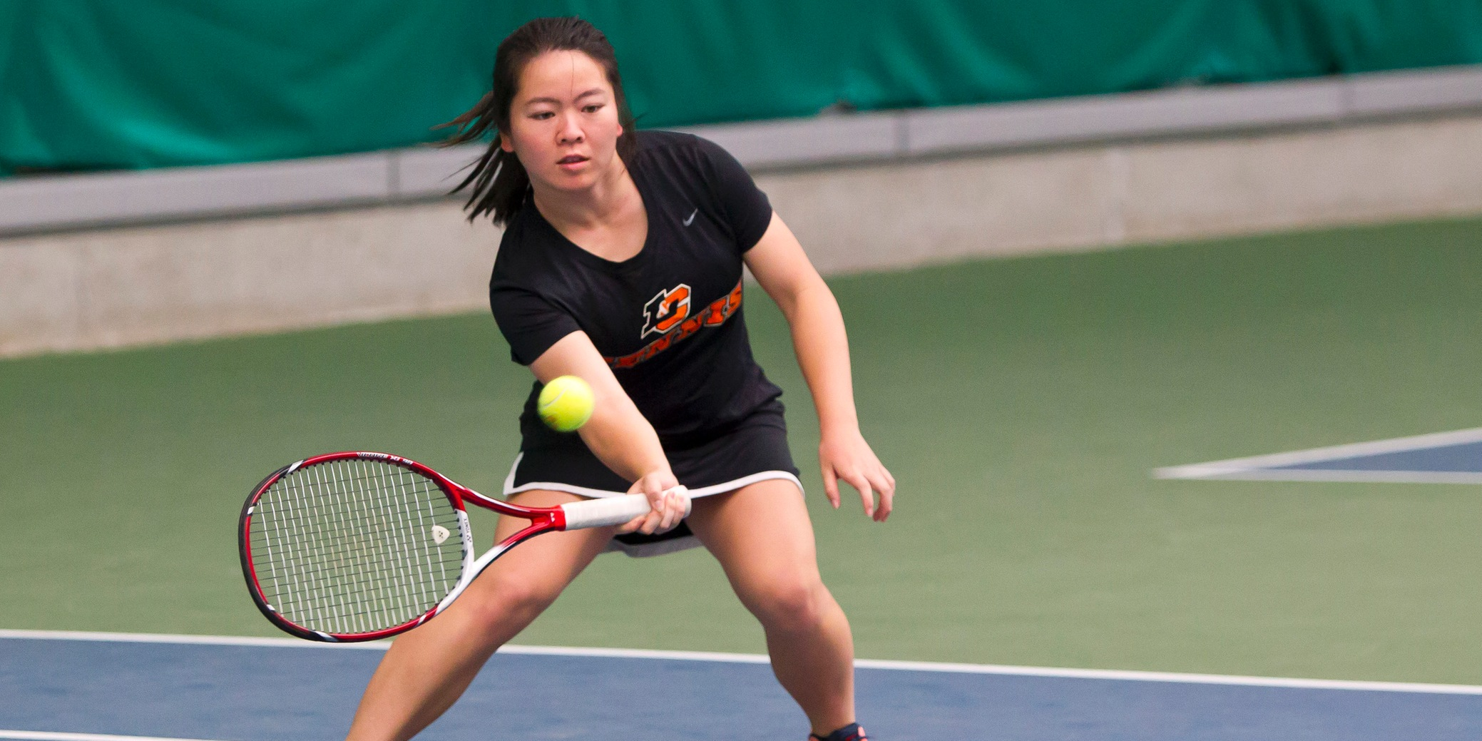 Key win in No. 3 doubles springboards Pios over No. 31 Kenyon