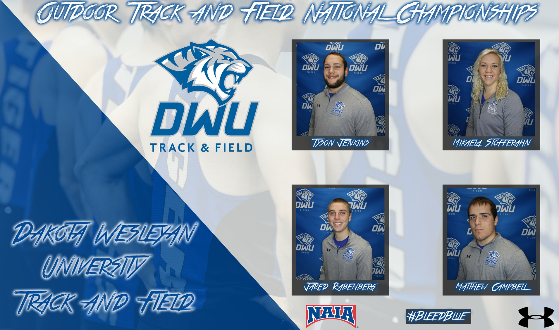 DWU track and field tallies three All-Americans at national championships