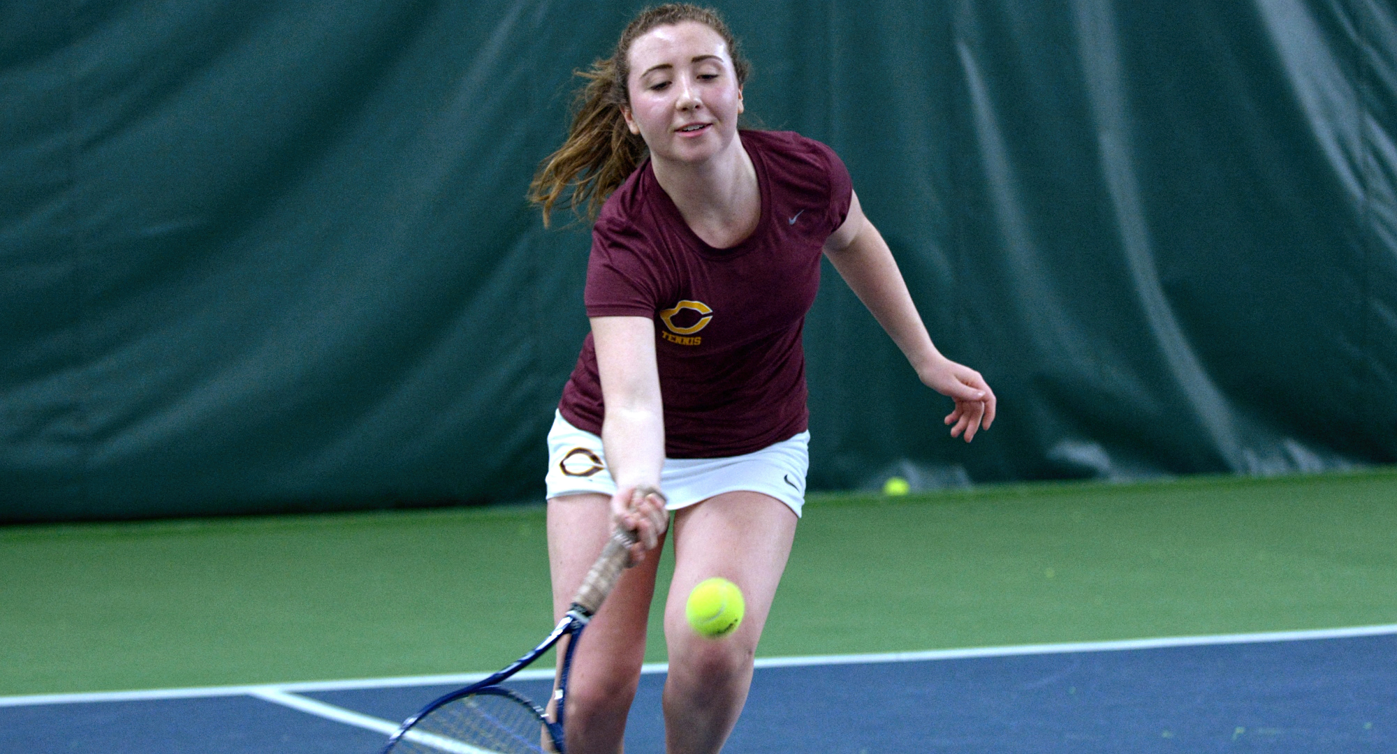 Freshman Talia Dalzell won her first collegiate singles match as she posted a 6-4, 5-7, 11-9 win in the Cobbers' match with Division II Bemidji State.