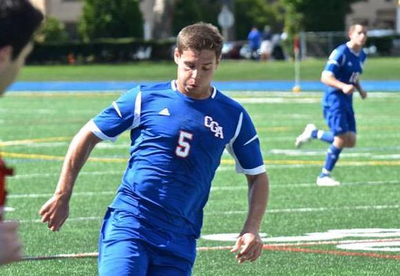 Grell, Burns Save Men's Soccer Season