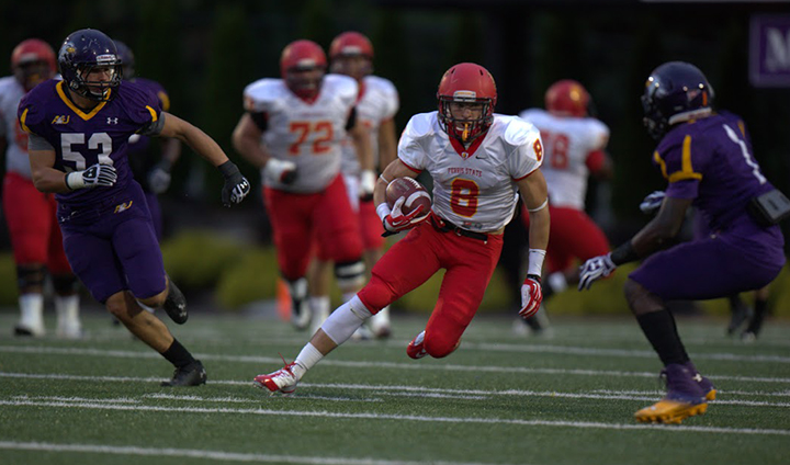 Ferris State Football Beats Defending GLIAC Champs To Remain Unbeaten In League Play